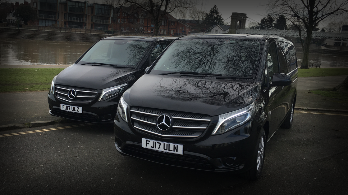 Executive Black Vito / Front - Up To 4 Passengers