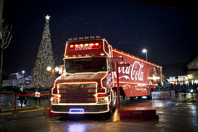 When is the Coca Cola Truck coming to Nottingham