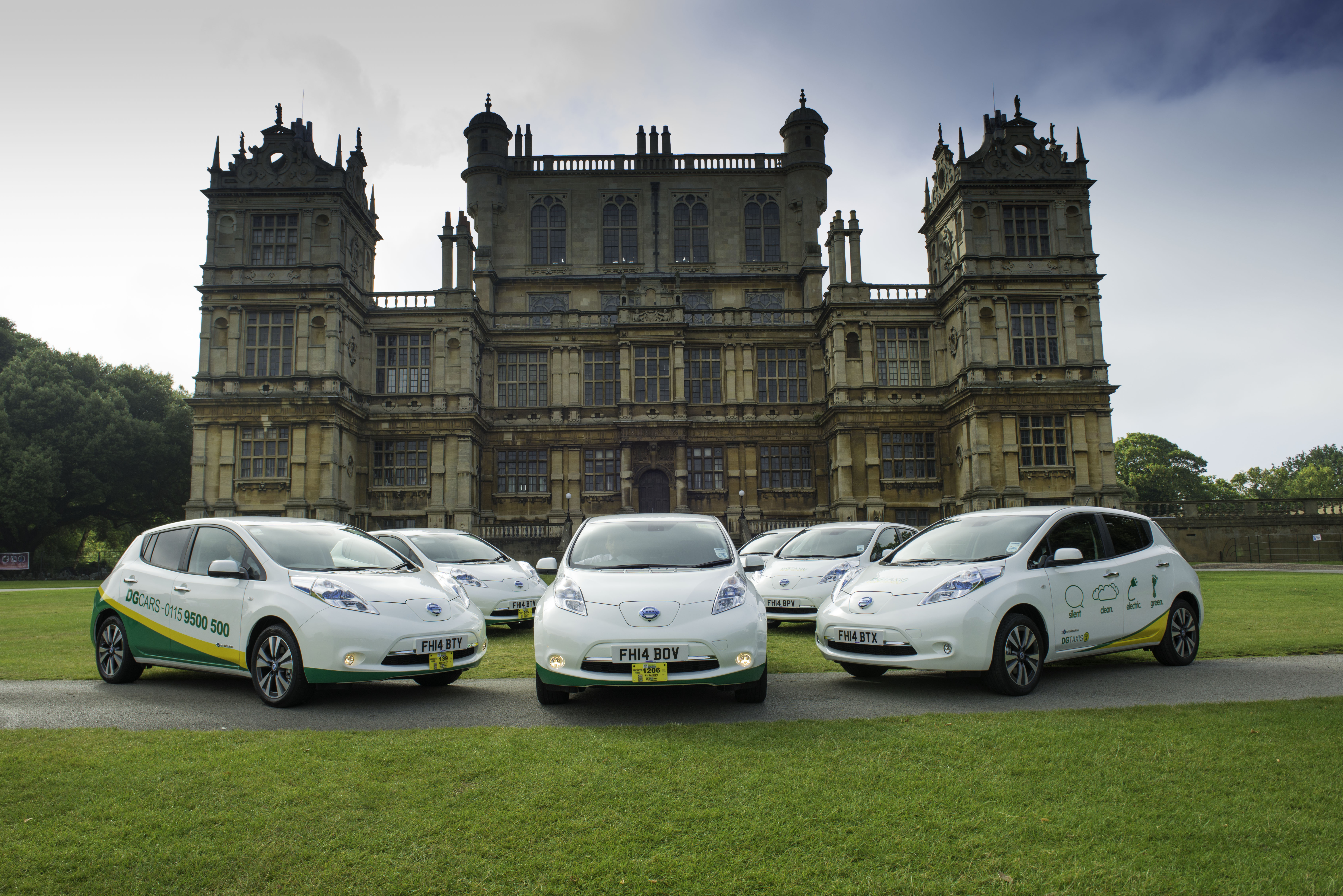 More Electric Taxis in Nottingham for DG Cars