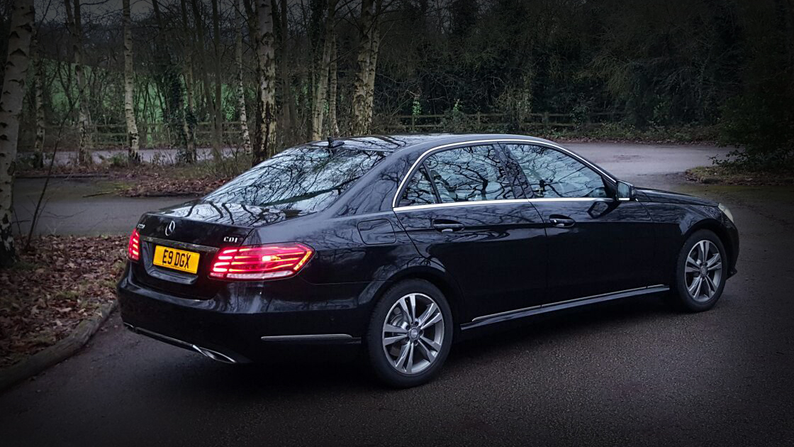 Executive Black E Class / Back - Up To 4 Passengers